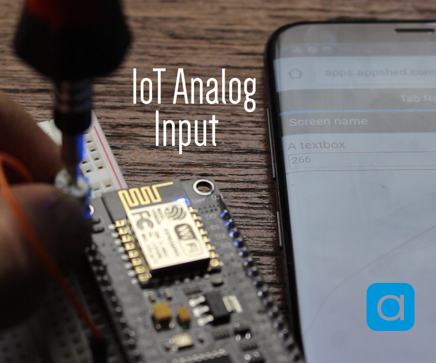 IoT Analog Input - Getting Started With IoT