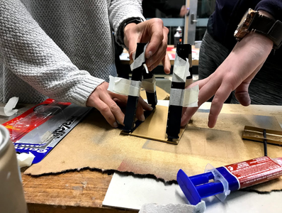 Building: 3d Print and the A-frame
