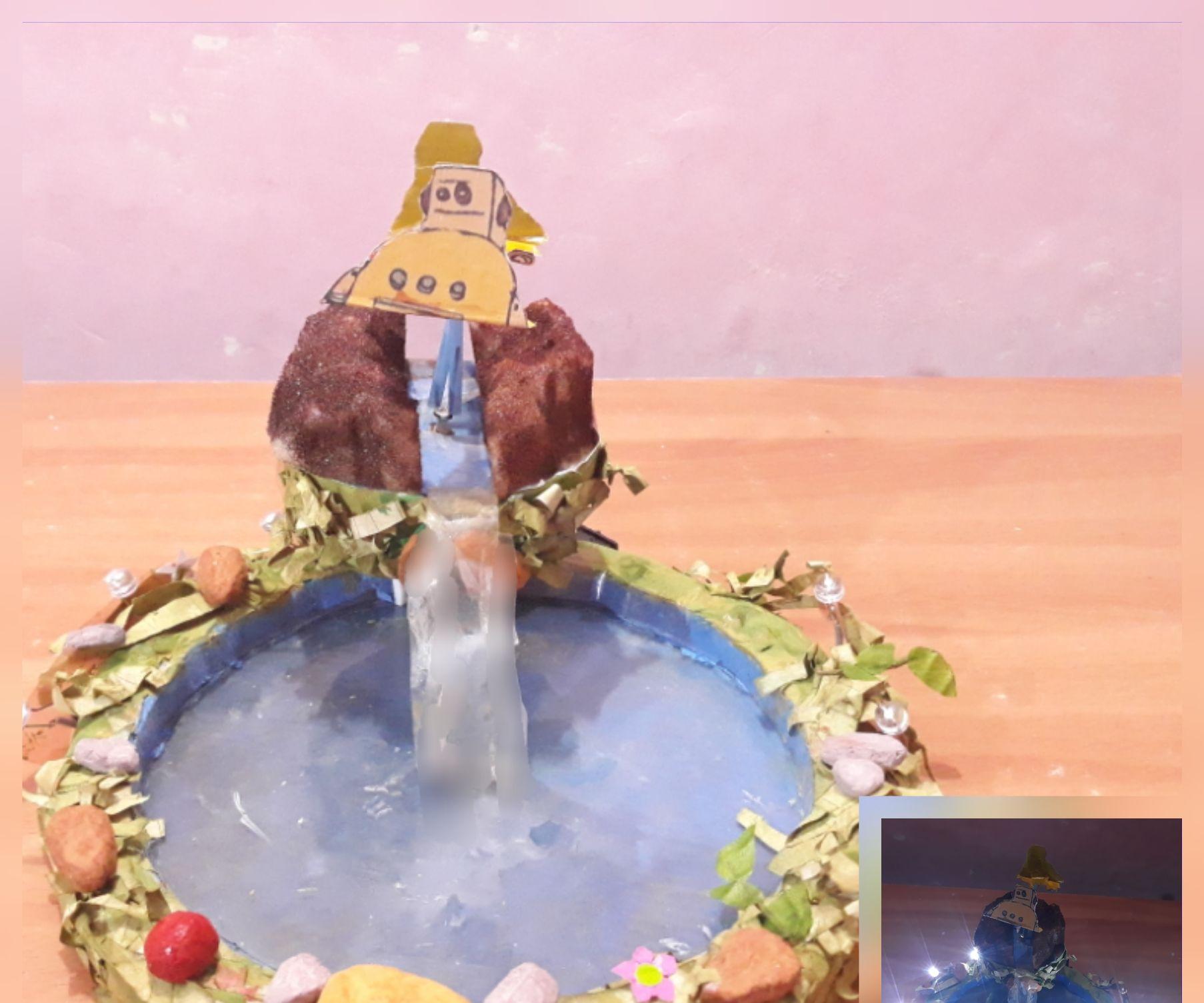 DIY Tabletop Fountain