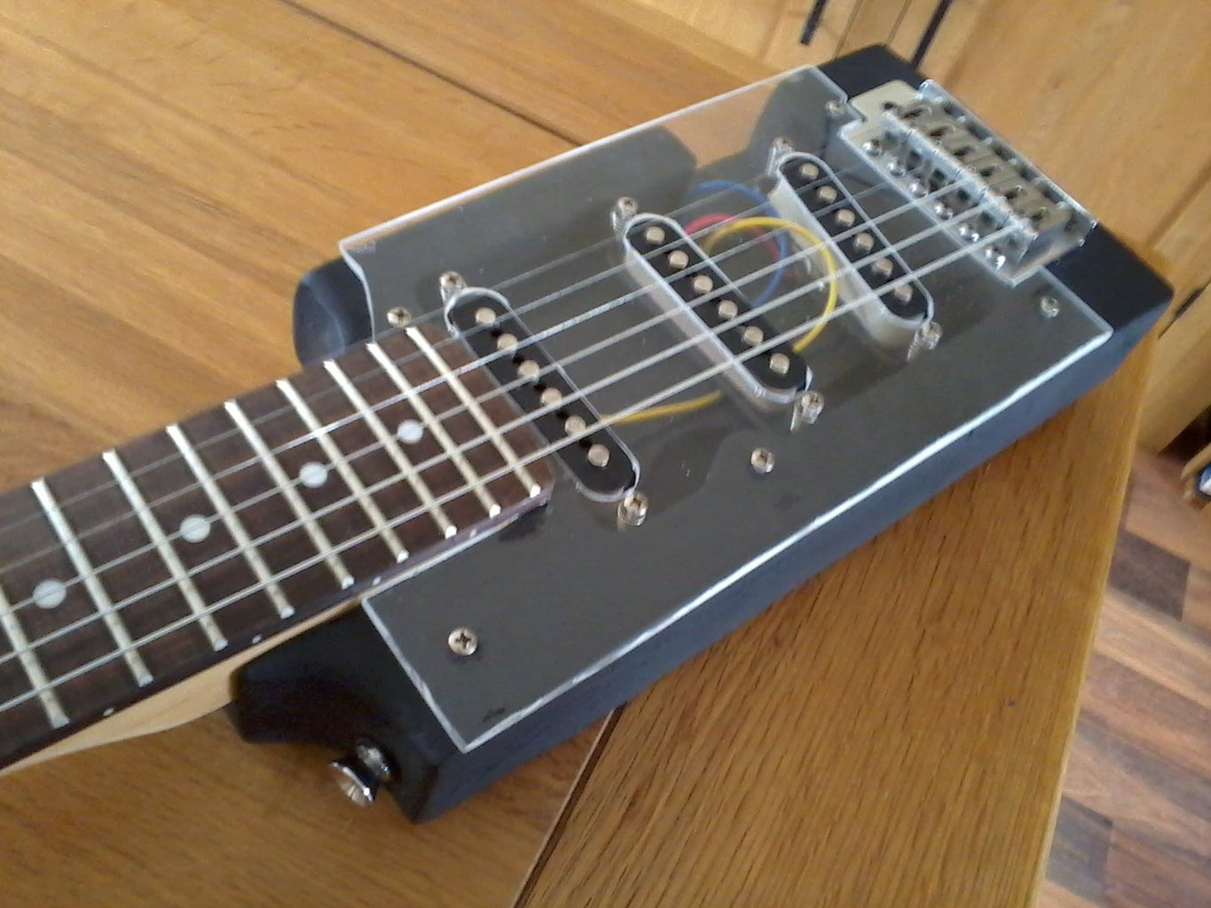Guitar Modifications, Painting and Tinkering