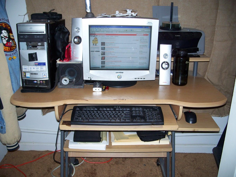 Step Seven: the Computer Desk