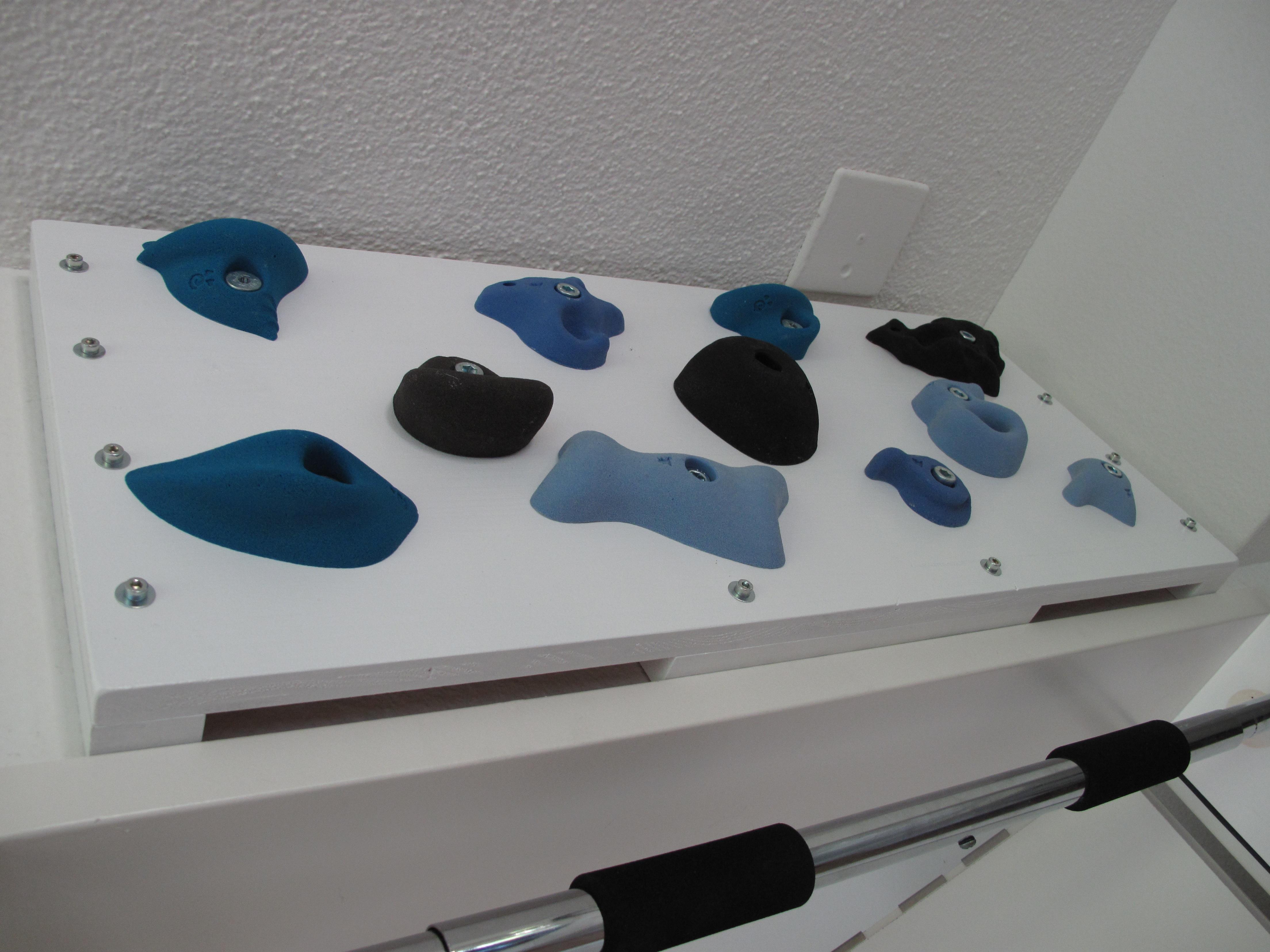 Training board for bouldering/climbing - The HangBoard