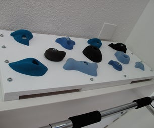 Training board for bouldering/climbing - The HangBoard