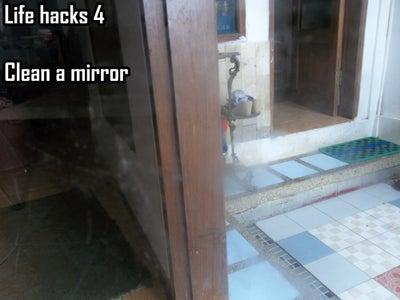 Clean a Mirror / Glass