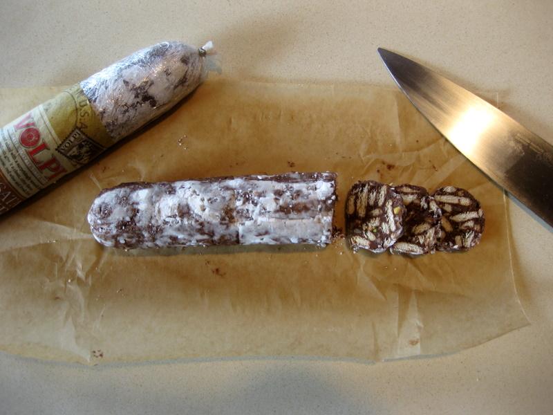 Chocolate Salami (Salame al Cioccolato)