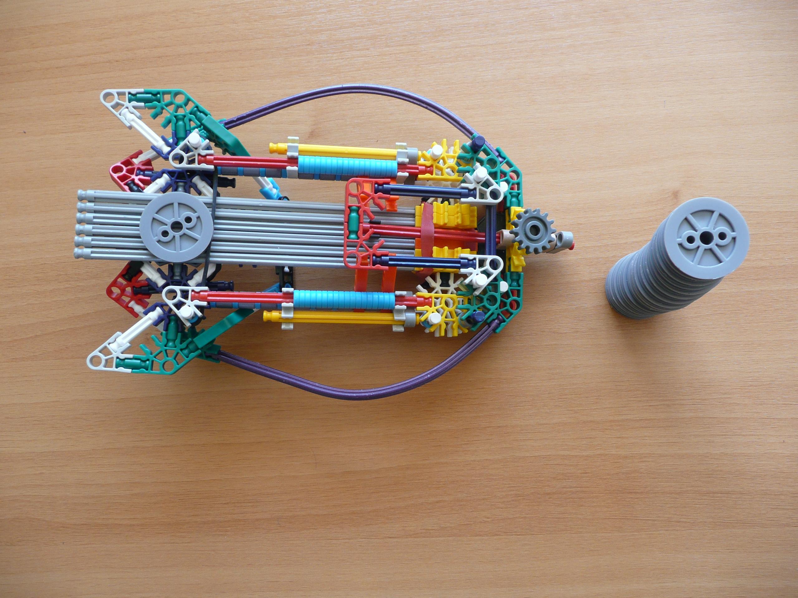 K'nex Wheel Launcher