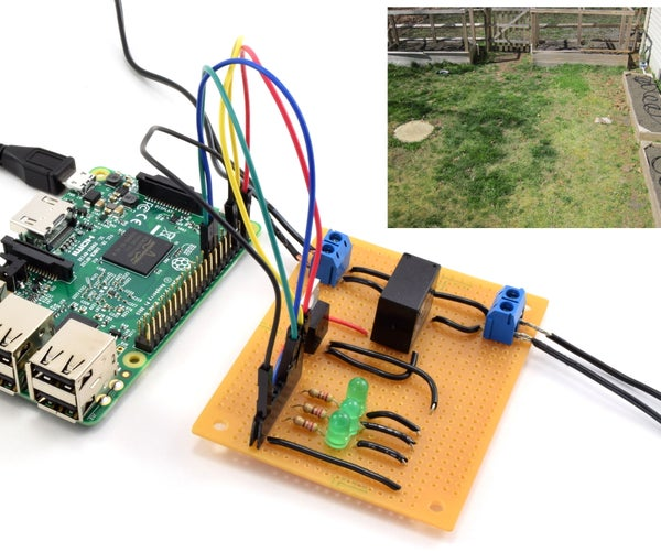 Raspberry Pi Controlled Irrigation System