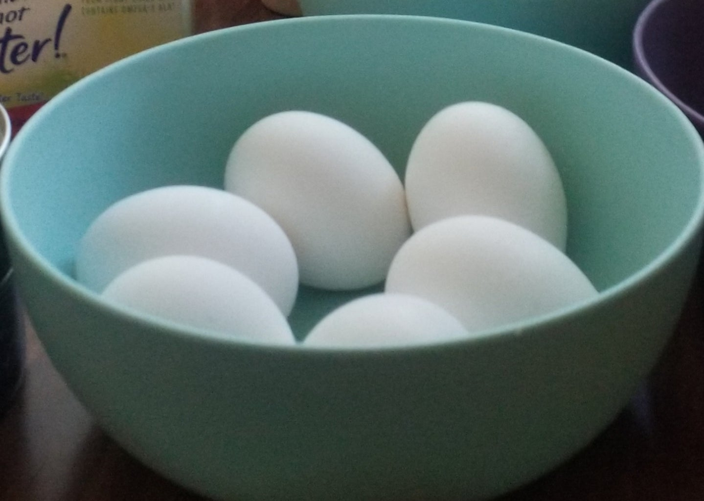 Step 3:  Prepare the Eggs