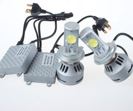 How to Convert Your Headlight Bulbs to LED
