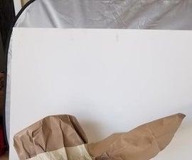 从回收的纸袋中制作复活节发动机罩