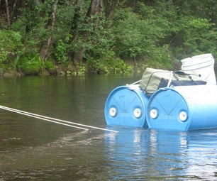 Canoe Trailer/Trunk