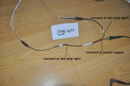 The Installation of RGB Led Strip Amplifiers and RGB Led Strip Lights: