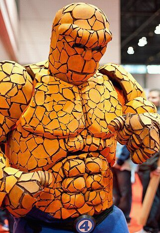 "How to make a Fantastic Four ""Thing"" costume"