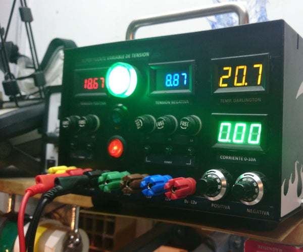 Design and Implementation of a 10Amp Linear Power Supply