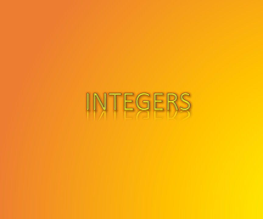 Integers in C++ and some basic programs