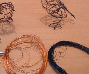 Making Wire Birds