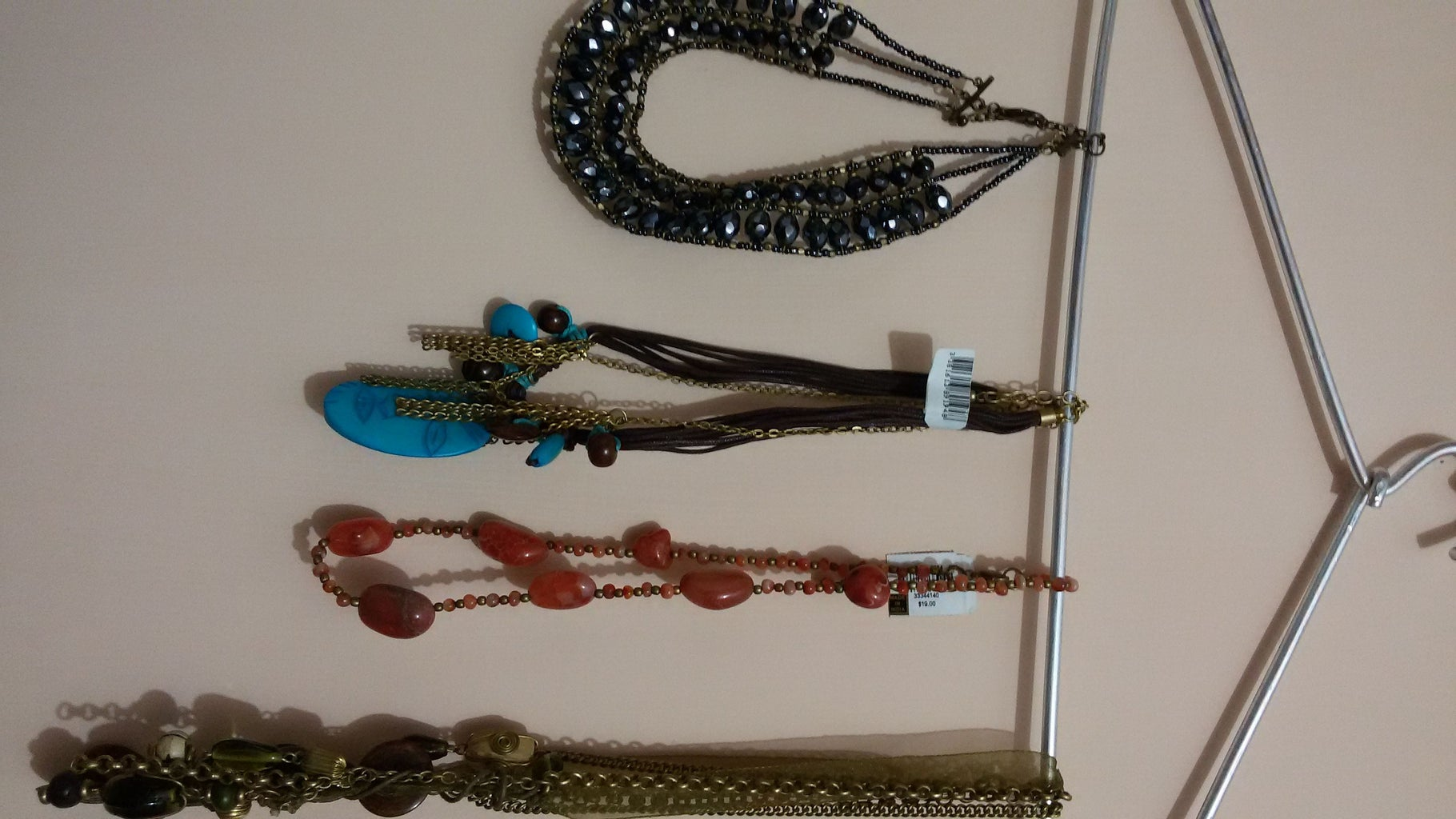 Clothes Hangers- Hang Necklaces and Keep Your Scarves Together in One Place!