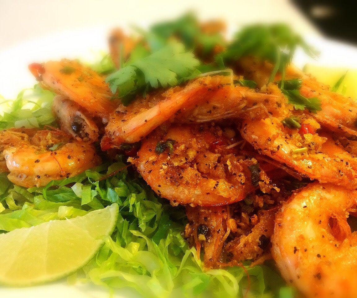 Delicious Salt n Pepper Shrimp Recipe