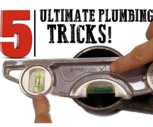 5 ULTIMATE Plumbing Tricks!