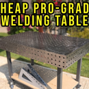 DIY Professional Grade Welding Table (with FREE Plans)