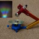 Mini CD Rainbow Projector