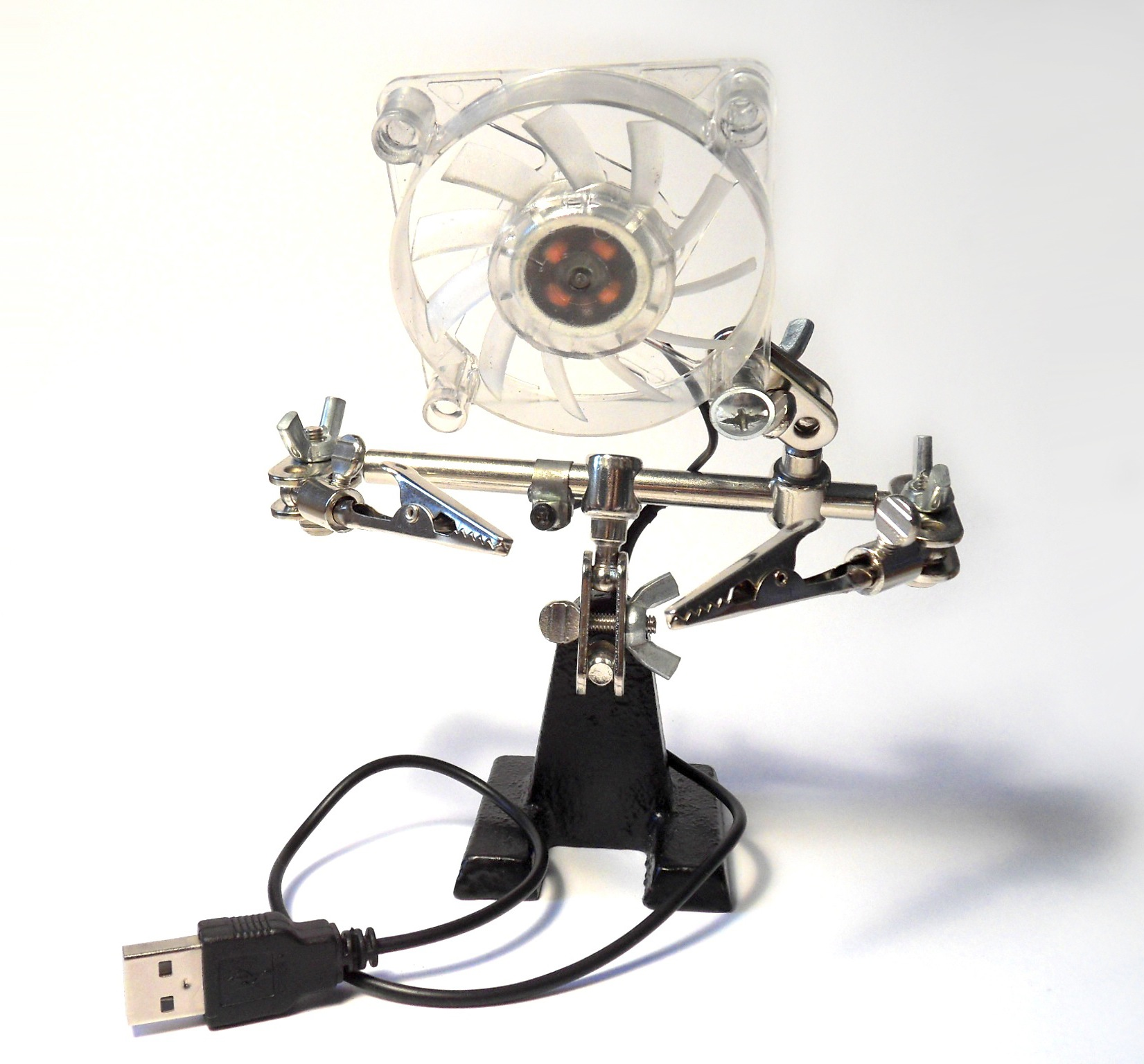 Third Hand Fume Extraction Fan