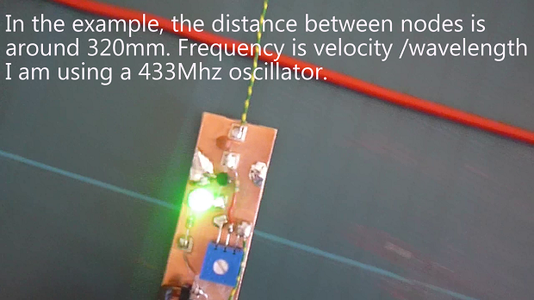 Use Sniffer to Find Nodes on a UHF Standing Wave
