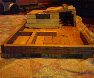 My Wooden Car House
