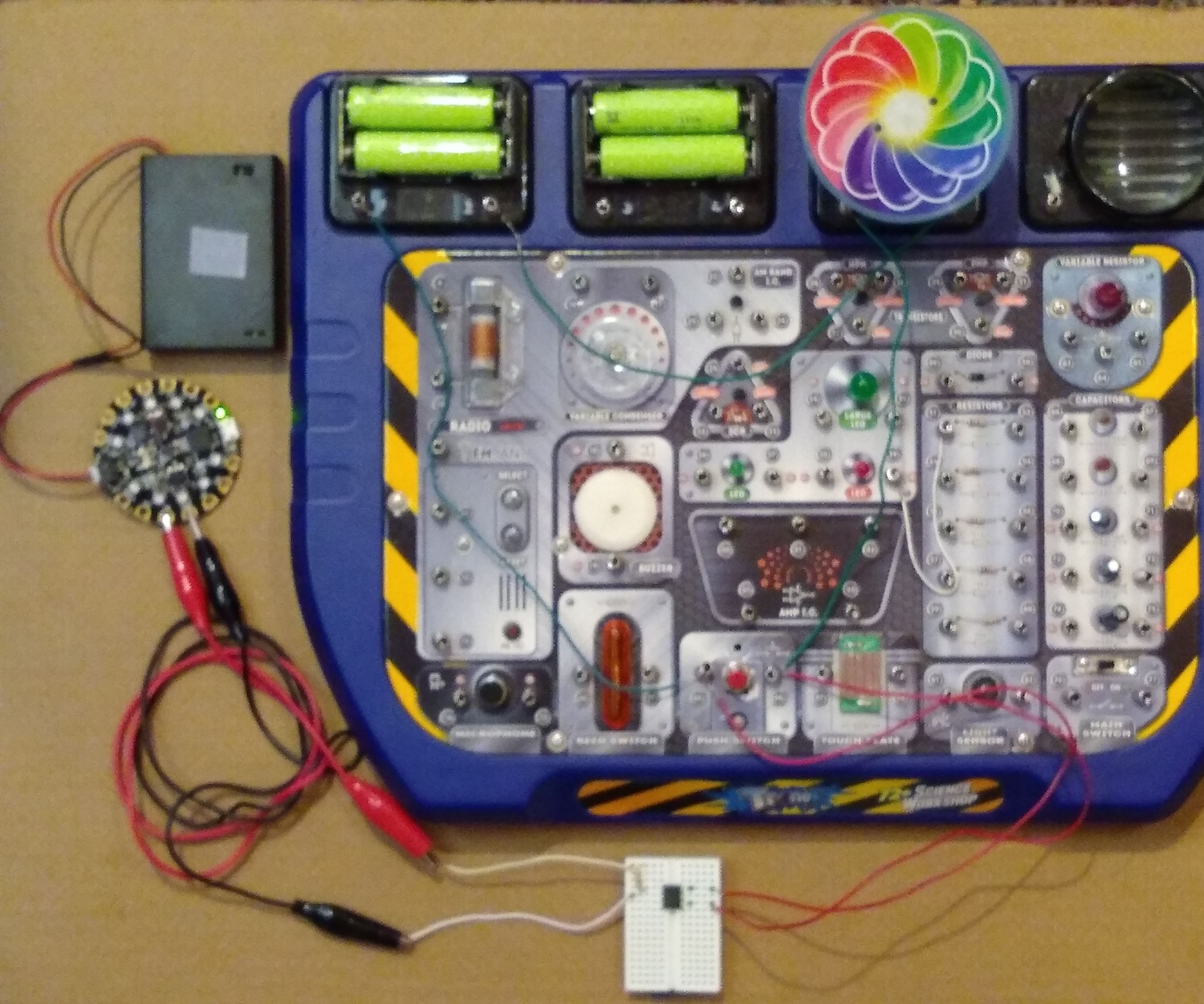 Add Computer Control to Any Electronic Circuit Kit