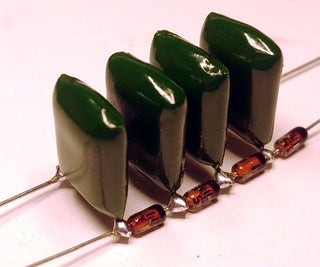 Diode Ladder VCF With NO PCB!