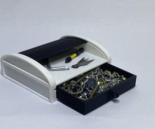 使用Tinkercad的3D可打印铃鼓盒