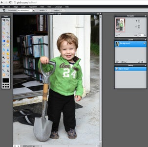A Quick Overview of Pixlr's Layout
