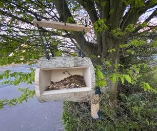 Open Face Bird Feeder