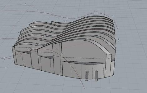 Parametric Modeling for the Heatsink.