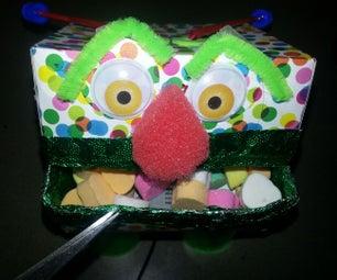 Chibitronics Buzzing and Light Up Monster Treat Box