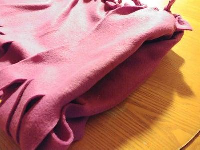 Folding Your Sleeveless Tunic