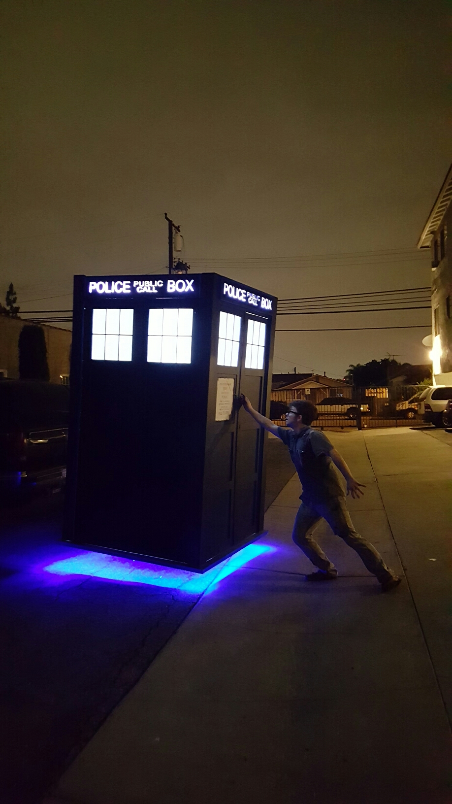 How to Make a FULL SCALE Levitating TARDIS