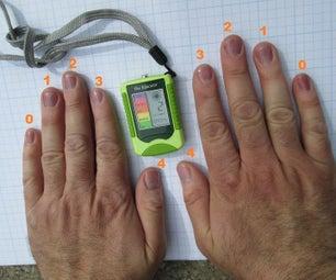Turn Your Fingernails Into Ultraviolet Light Monitors