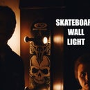Skatboard Wall Lamp