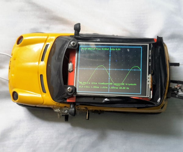 Fast, Portable and Affordable Oscilloscope and Inductance Meter