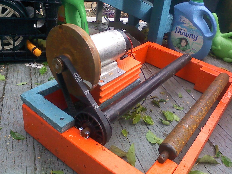 Attaching the DC Motor/Generator