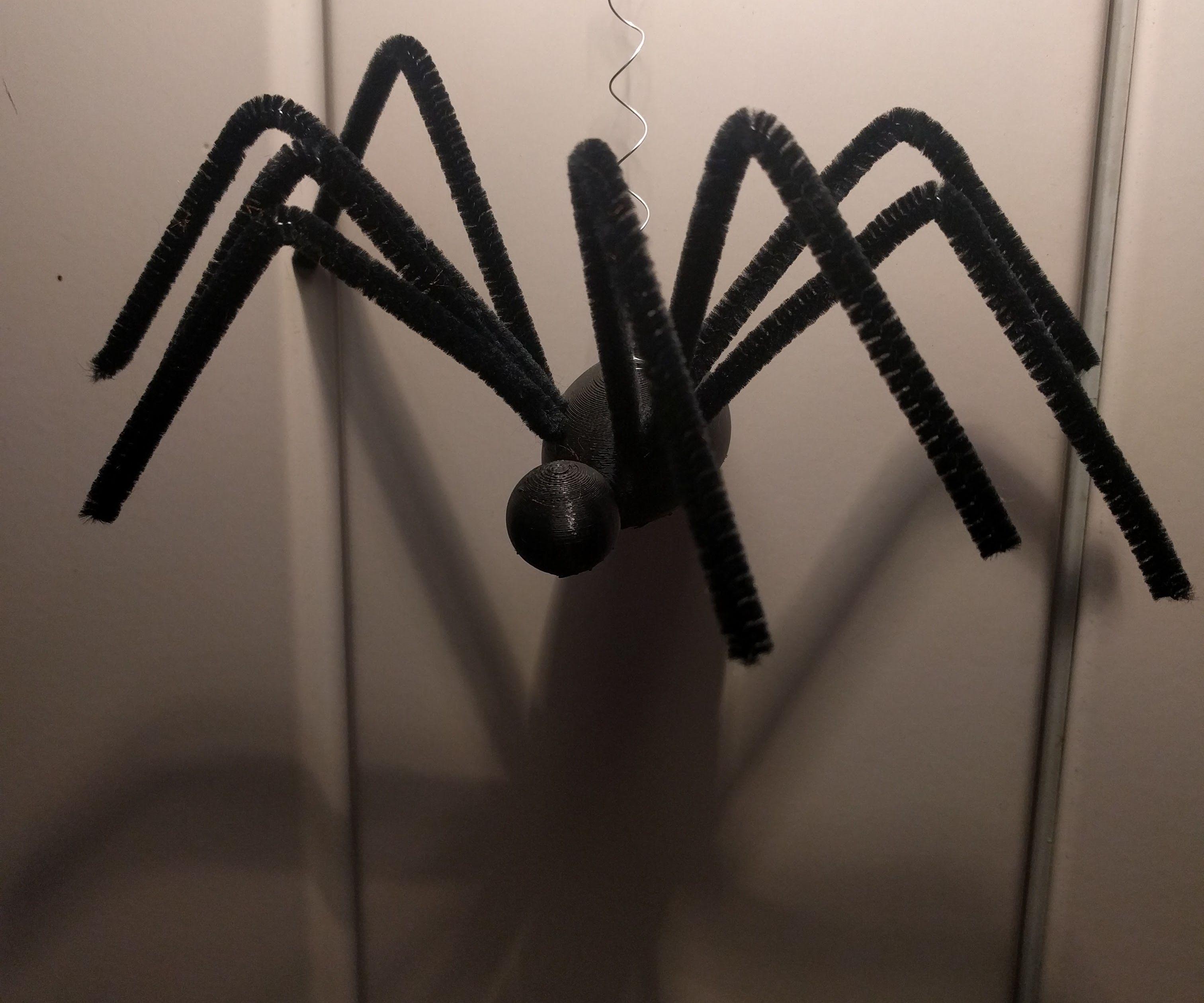 Jumping Halloween Spider