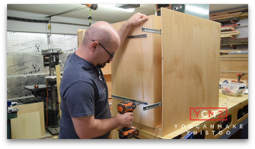 Install Vertical Drawers
