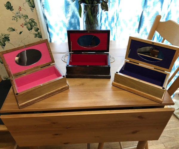 Simple Jewelry Boxes