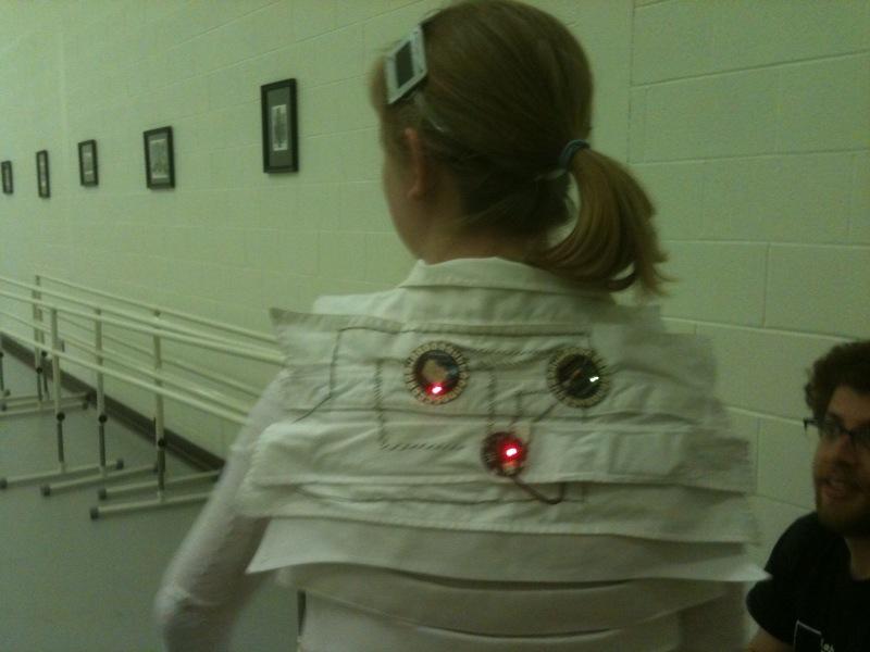 Wireless Dance Costume