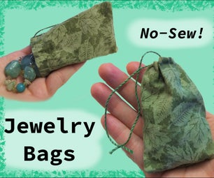 Simple No-Sew Jewelry Bags