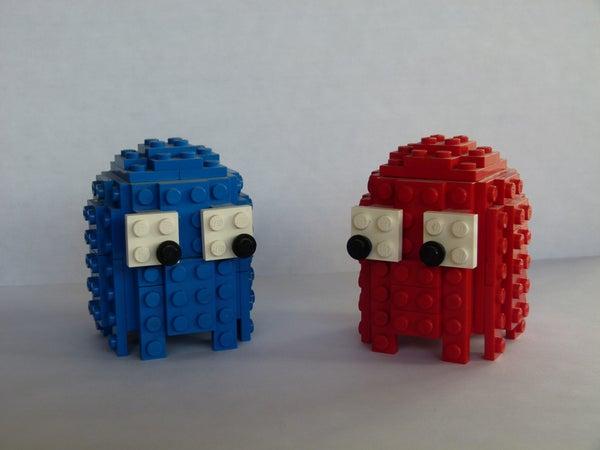 3D Pacman Ghosts