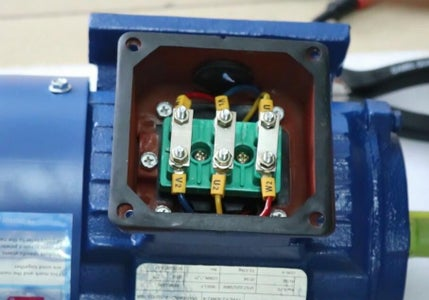 Induction Motor in Delta Connection
