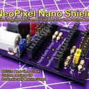 Arduino Nano NeoPixel Shield With Integrated RTC