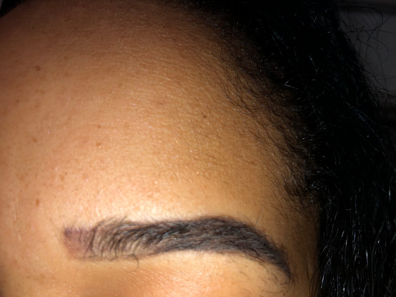 Doing the Beginning of Your Eyebrow (the Lighter Part)